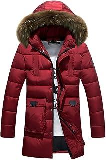 icoup メンズ 綿ダウンコート ダウンジャケット 防寒服 ダウン ロングコート ジャケット 冬物 綿服 秋 冬 コート おしゃれ かっこいい