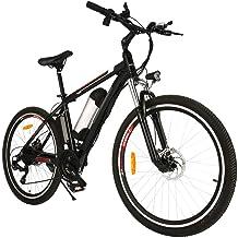 Speedrid Bicicleta de montaña eléctrica E-Bike de 26/20 Pulgadas, Millas de 25-50 km/h, batería Desmontable de 36V 8AH y Caja de Cambios de 21/7 velocidades