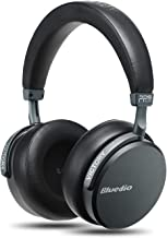 Bluedio V2 (Victory) Bluetooth Headphones Over Ear, PPS12 Drivers Wireless Headset with mic Hi-Fi Deep Bass for Cell Phone/PC, Support Amazon Web Services(Black)