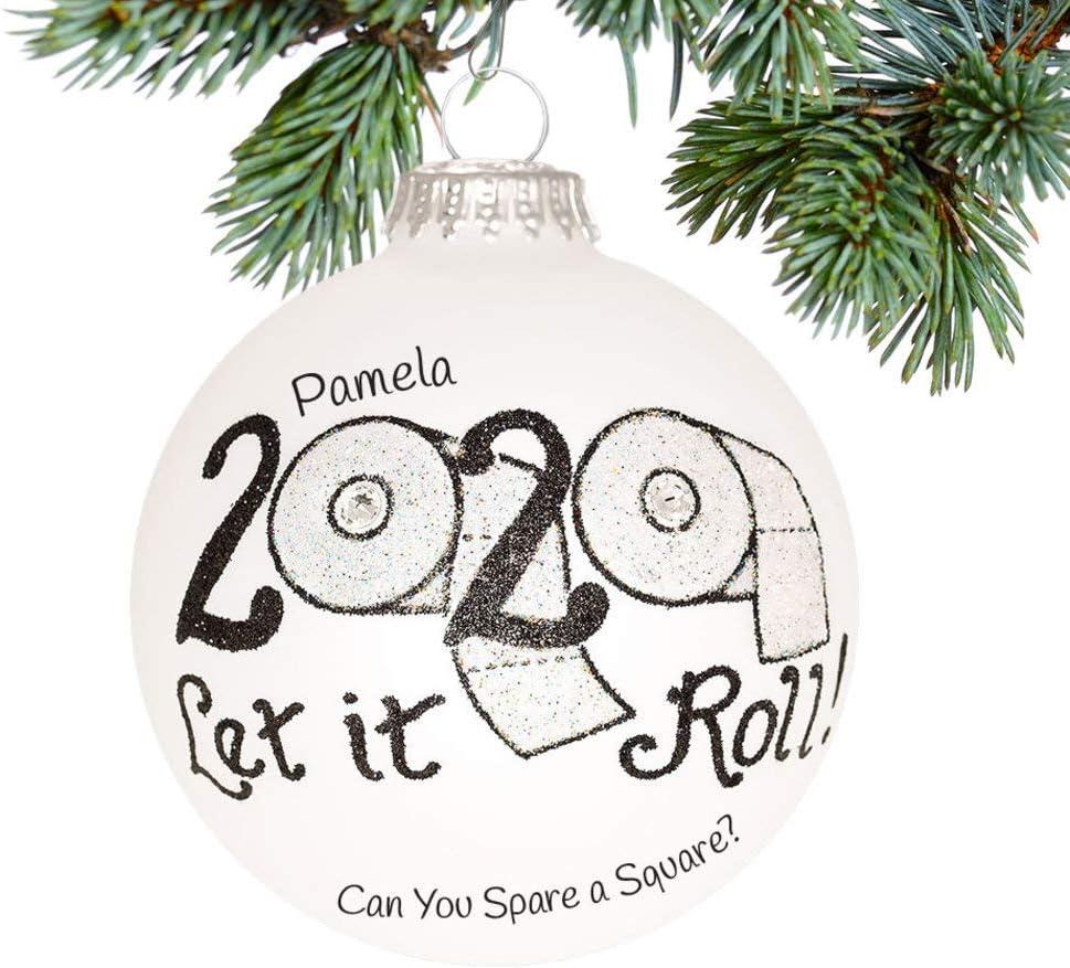 Details about  /2020 Christmas Ornament TOILET PAPER ROLL Tree Pendant Decoration