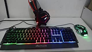 Kit mouse e teclado gamer Verde com led JP 133
