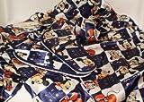 Walt Disney - Caierpai - Pyjama Mickey 2 pièces + ceinture et paire de chaussons (mules) - tissu satiné