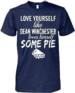 Supernatural Gift Dean Winchester Love Himself Some Pie T-Shirt