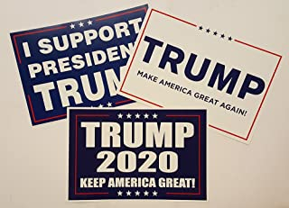President Donald Trump 2020 Set of 3 Different Campaign Posters
