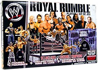 WWE Wrestling PPV Royal Rumble Deluxe Playset