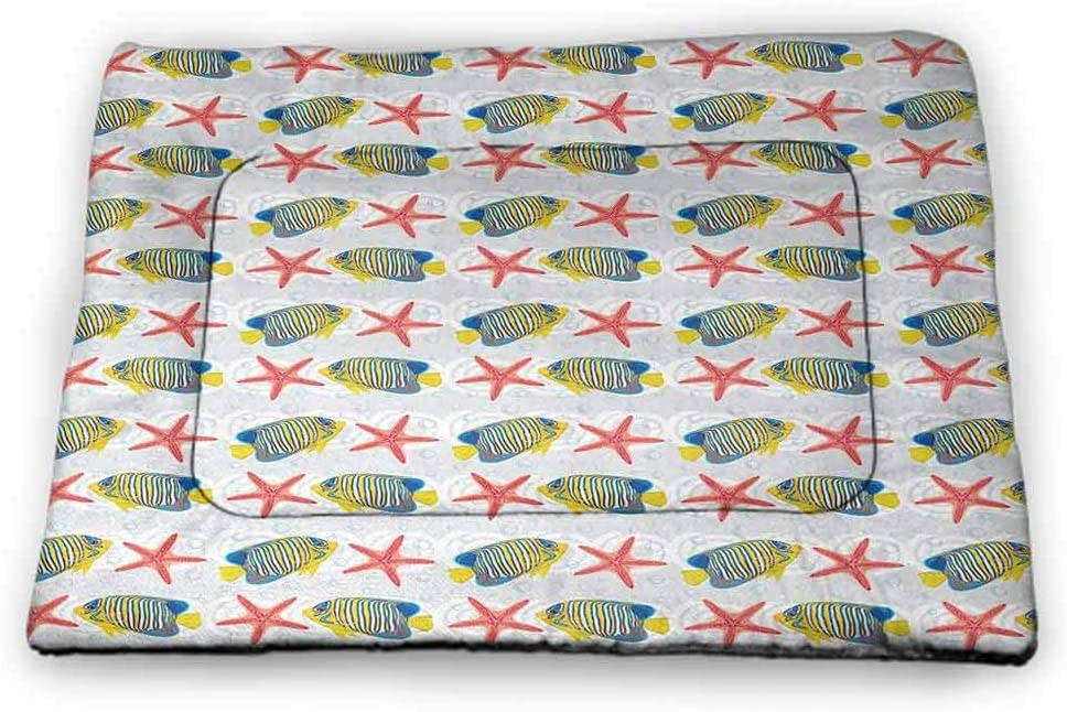 Pet Mat Max 42% OFF Starfish Personalized Placemat Sales results No. 1 Black and White Strip
