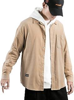 J.STORE [ジェイストア] ベーシック カラー シャツジャケット カジュアル コーデュロイ シャツ メンズ M~2XL