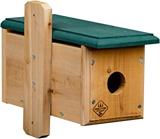 Welliver Outdoors Cedar Horizontal Bluebird House