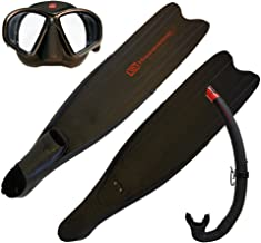 Hammerhead Spearguns Freedive Starter Kit (Low Volume Mask, Long Blade Fins, Snorkel, and Carry Bag)