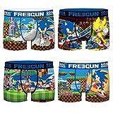 FREEGUN Boxer Enfant Sonic The Hedgehog (14/16 Ans, Pack 02)