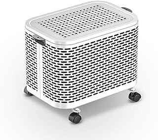 HKDJ-2000W Calefactor con Control Remoto,Cerámica Que Calienta Rápidamente,Diseño Silencioso Que Ahorra Energía para Uso De Oficina De Sala De Estar De Dormitorio 36 * 24 * 32CM