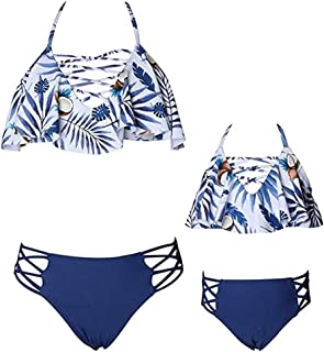Mommy and Me Matching Swimsuits Family Matching Bathing Suit for Moms & Toddlers