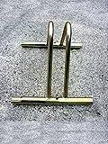Bettini srl 1203170 PORTABICICLETTE COMPONIBILE Tondo, Oro