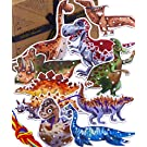 Jaques of London Dinosaur Toy Lacing Puzzle | Dinosaur Toys for Boys Threading Toys | Lacing and Threading toys for 2 3 4 year old Boy and Girls | Since 1795 |