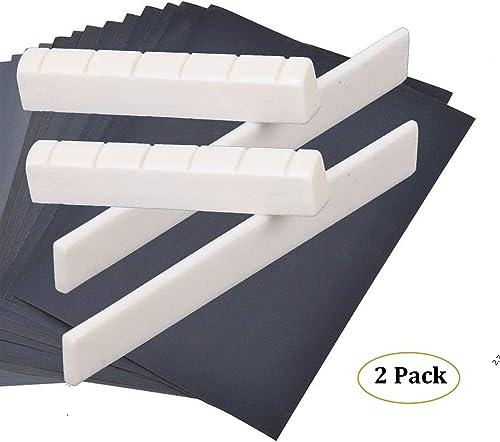 6 pines de lat/ón s/ólido pasadores de puente para cuerdas de guitarra ac/ústica accesorios bricolaje