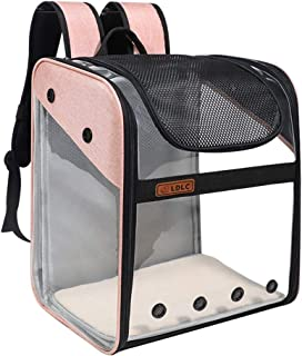 YUKABAN Pet Carrier Backpack for Dogs and Cats,Puppies,Cat Carrier Backpack, Small Dog Backpack Carrier, Airline Approved ...