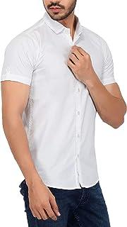 Guru Kripa Men's Slim Fit Half Shirt