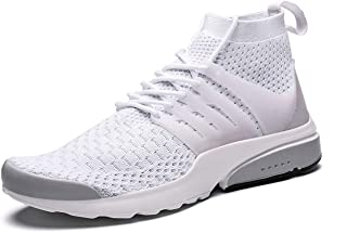 Men's Walking Shoes Athletic Casual Mesh Comfortable High-Top Sneaker