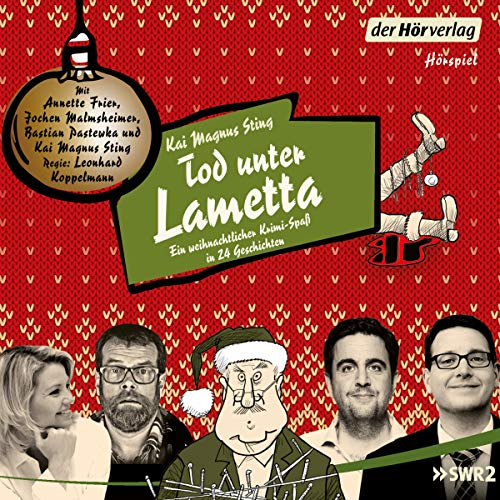 Tod unter Lametta audiobook cover art