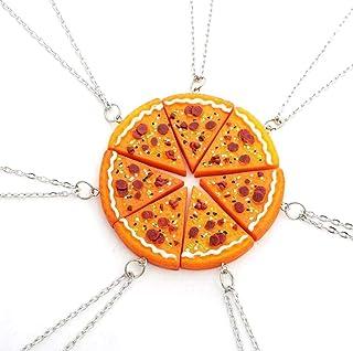 Pizza Bangles Set 6 Bronze Pizza Bracelets Pepperoni Pizza Jewelry Best Friends Bracelets Friendship Pizza Friendship Bracelets Whole Pizza