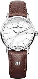 Maurice Lacroix - Reloj Analógico para Mujer de Cuarzo con Correa en Cuero EL1094-SS001-110-1