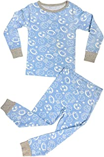 Special Spring Sale 2 Piece Snug Fit Cotton Pajama Sets for Infants Toddlers Little Boys (Assorted Colors)