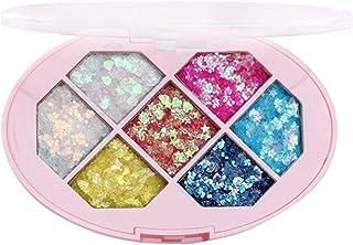 Beaupretty 1 doos met pailletten, oogschaduwpalet, glinsterend, oogschaduw, vrouwen, lichaam, gezicht, glitter