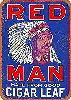 赤い男 メタルポスタレトロなポスタ安全標識壁パネル ティンサイン注意看板壁掛けプレート警告サイン絵図ショップ食料品ショッピングモールパーキングバークラブカフェレストラントイレ公共の場ギフト