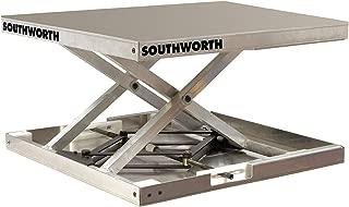 Scissor Lift Table, 300 lb, 23 in. L