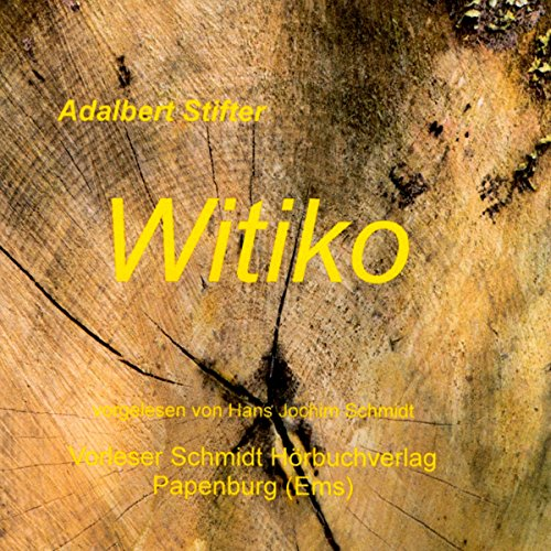 Witiko audiobook cover art
