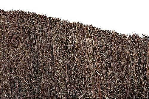 VERDELOOK Arella Brezo in Erica Naturale, Spessa 1.5 cm Circa, 2x5 m, per recinzioni e Decorazioni
