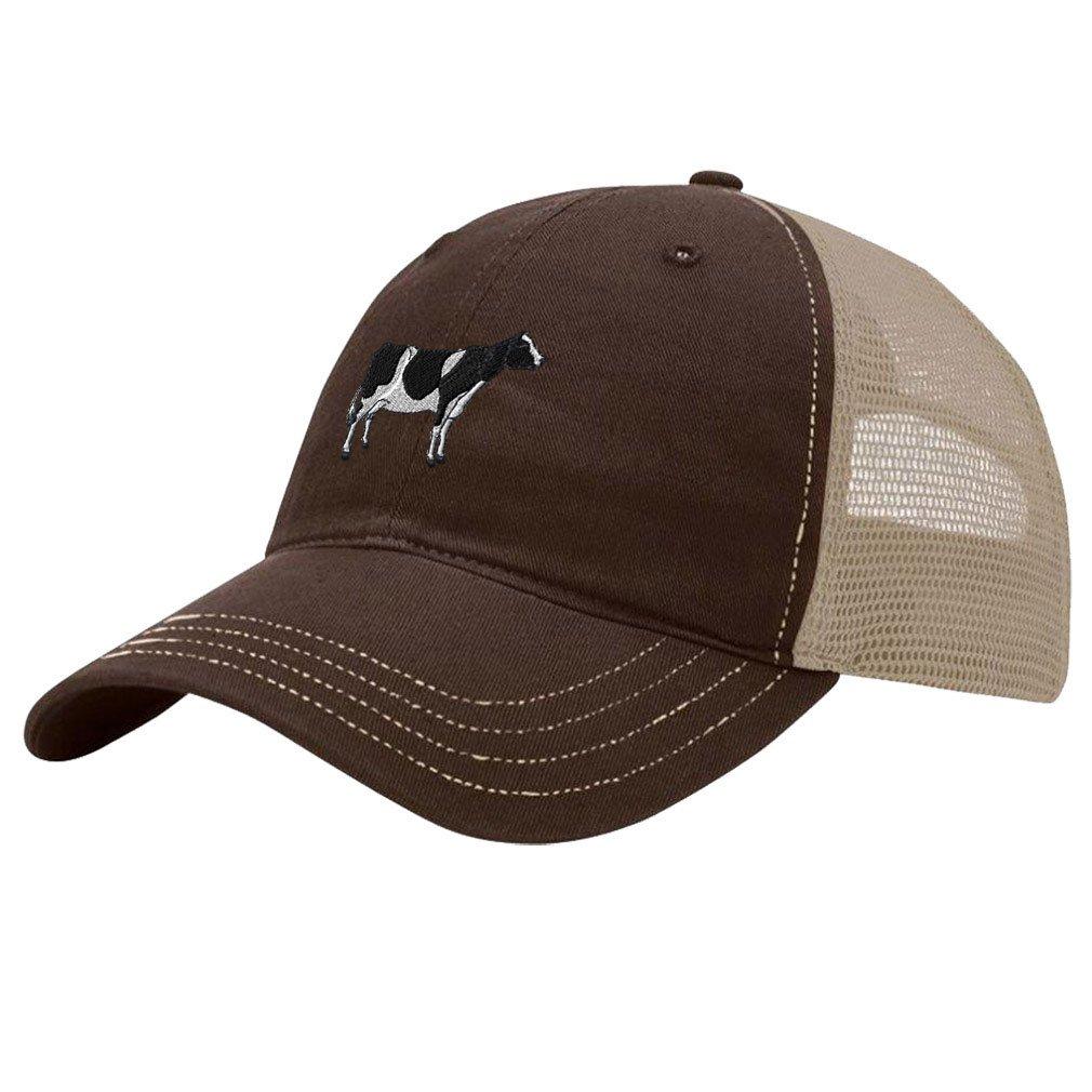 Custom Trucker Hat Richardson Cute Kangaroo Embroidery Animal Name Cotton Snaps