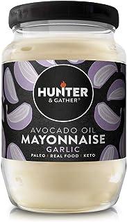 Hunter & Gather Paleo Mayonesa de Aguacate con Ajo sin Gluten y Azúcar 630g