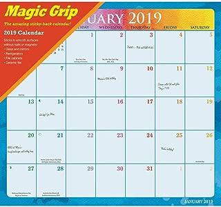 2020 Rainbow Jumbo Magic Grip Wall Calendar, Assorted Organization by Calendar I