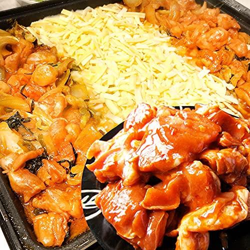 ジューシー鶏もも 焼肉 チーズダッカルビ 《*冷凍便》 (1kg)【まとめ買い割引・プライム】 まとめ買い対象商品 人気