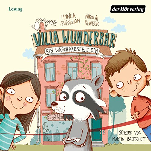 Ein Waschbär zieht ein     Villa Wunderbar 1              By:                                                                                                                                 Linnea Svensson                               Narrated by:                                                                                                                                 Martin Baltscheit                      Length: 1 hr and 25 mins     Not rated yet     Overall 0.0