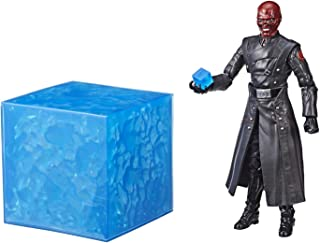 Captain America SDCC 2018 Exclusive Marvel Legends Series Red Skull Figure & Electronic Tesseract