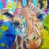 "Giraffe Diamond Painting Kits for Adults, Teens or Tweens - Giraffe Diamond Art Painting 12""x12"" Educational Diamond Art Kits Round Beads | Full Drill Diamond Painting Animals for Kids"