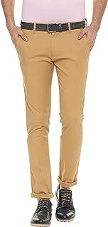 American-Elm Men's Cotton Stretchable Casual Trouser