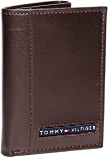 Tommy Hilfiger 31Tl11X033-200 Pull-Up Trifold Wallet For Men - Brown 0091-5676/02