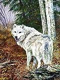 1000-teiliges Puzzle für Erwachsene Wolf Tierbild flacher Bereich aus Holz pädagogisches Spielzeugpuzzle Früherziehungsspielzeug Puzzle A.11 1000pcs