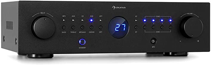 auna AMP-CD950 DG – Power Amplifier Verstärker, Ausgangsleistung: 8 x 100 Watt RMS..