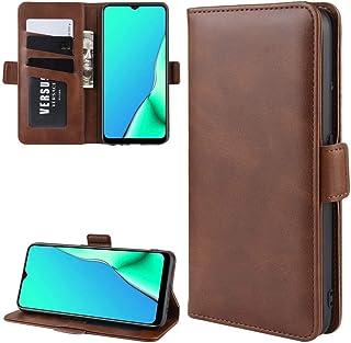 BAIYUNLONG Funda para OPPO A9 (2020) Cartera de piel con soporte para teléfono celular con cartera y soporte y ranuras par...