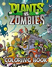 Plants And Zombies Coloring Book: Jumbo Coloring Books For Kids With Plants And Zombies Characters, Weapons, Scenes Images