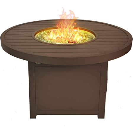 Amazon Com Outdoor Greatroom Stonefire 32 In Round Fire Pit Table Garden Outdoor