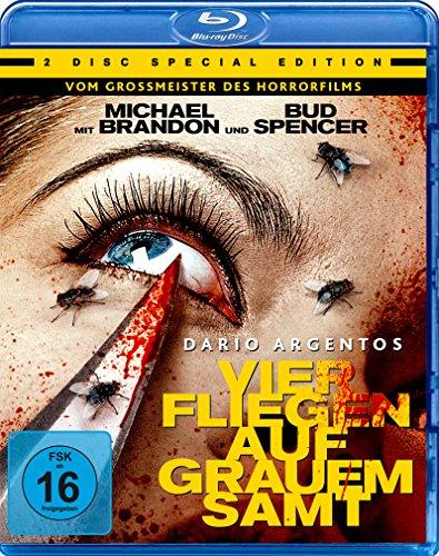 Dario Agentos Vier Fliegen auf grauem Samt - Special Edition  (+ Bonus-DVD) [Blu-ray]