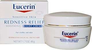 Eucerin Redness Relief, Night Creme 1.70 oz ( Pack of 2)