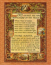 Desiderata Gallery Simple Prayer Pope St. Francis of Assisi Fine Art Print, 11 X 14 Archival Card Paper