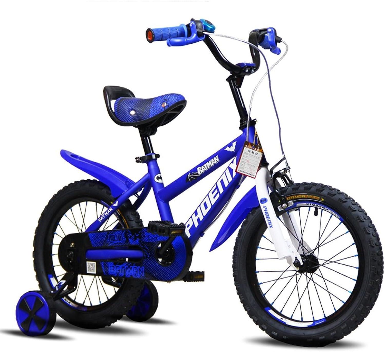 mas preferencial Bicicletas Infantiles Niños triciclos para para para niñas Aire Libre para Salidas para Niños vehículos para Niños de (Azul)  ventas en linea