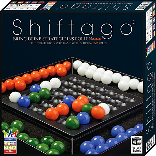 WiWa Games 790023 | Shiftago | Familie bordspel | Strategiespel | Voor 2-4 spelers
